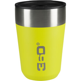 360° degrees Vacuum Travel Mug Regular 355ml, jaune
